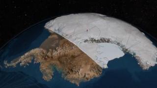 Антарктида без снігу