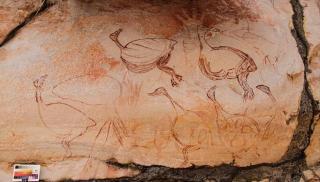 Унікальні наскельні малюнки, яким понад 9 тисяч років, знайшли в Австралії (Фото)