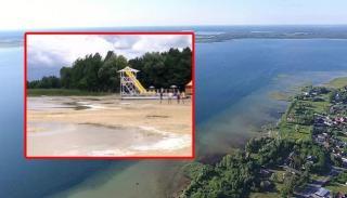Найглибше озеро України обміліло більше, ніж на півметра