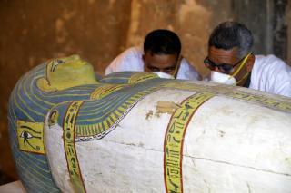 У Єгипті знайшли 59 унікальних саркофагів, муміям 2600 років
